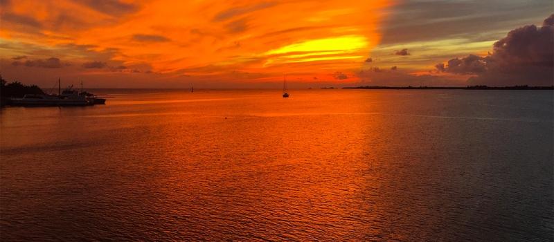 central-america-sunset